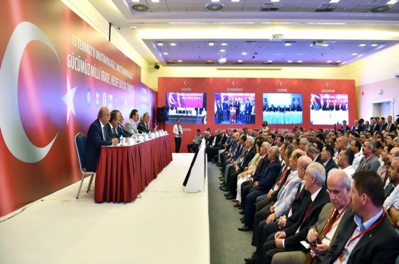 Aralarında TÜRKİYE KAMU-SEN ile birlikte, TOBB, TÜRK-İŞ, TİSK, TESK, TZOB, HAK-İŞ, MEMUR-SEN'in de bulunduğu Türkiye Avrupa Birliği Karma İstişare Komitesi (KİK) tarafından, 15 Temmuz anma etkinlikleri kapsamında ortak basın toplantısı düzenledi.