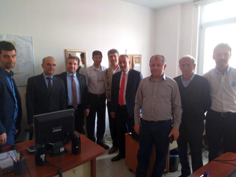 Genel Başkan Yardımcılarımız Kenan Karaçam ve Mustafa Köse sendikal çalışmalar kapsamında Yozgat ilimizi ziyaret ettiler.