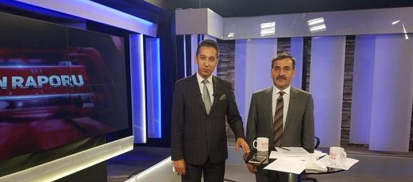 """Genel Başkanımız Önder Kahveci, Bengütürk TV'de """" Günün Raporu"""" programına canlı yayın konuğu olarak katıldı."""
