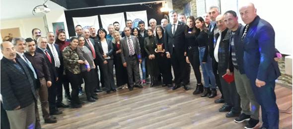 Genel Başkan Yardımcılarımız Kenan Karaçam ve Mustafa Köse sendikal çalışmalar kapsamında Yalova İlimizi ziyaret ettiler.