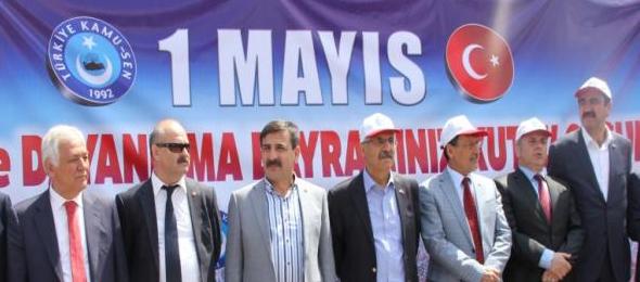 1 Mayıs Coşkusu Çukurova'dan Türkiye'ye Yayıldı