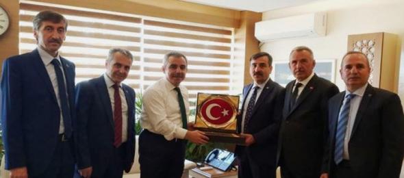 Devlet Personel Başkanı Enes Polat'ı Ziyaret Ettik
