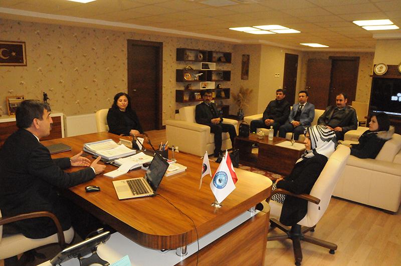 Kamu Taşeron İşçileri Birliği Derneği sendikamızı ziyaret ederek Genel Başkanımız Önder Kahveci ile görüştü.
