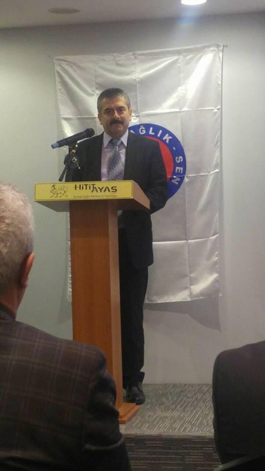Genel Başkanımız Önder Kahveci, Genel Başkan Yardımcımız Hasan Şirin ile birlikte Ankara 5 Nolu Şubemizin düzenlediği işyeri temsilcileri toplantısına katıldı.