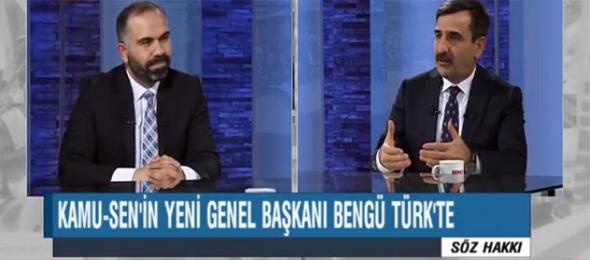 KAHVECİ: Türkiye Kamu-Sen'e Omuz Vermek, Milletin Geleceğine Omuz Vermektir