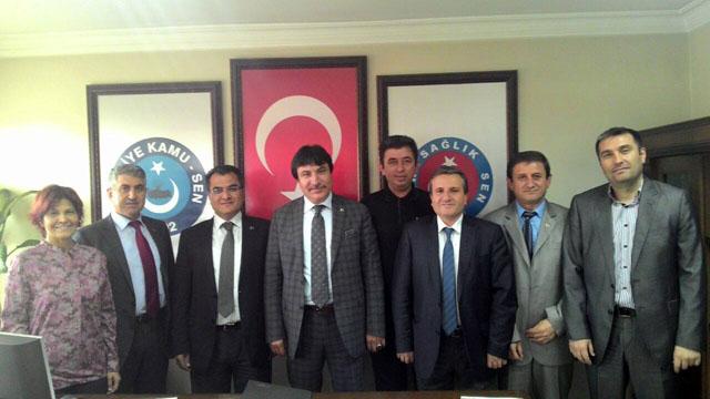Genel Başkan Yardımcımız İsmail Türk İzmir Üniversite Şubemiz ile 9 Eylül Üniversitesi arasında gerçekleştirilen KİK toplantısına katıldı.