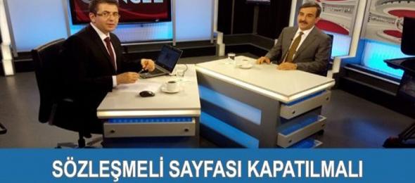 Türkiye Kamu-Sen Genel Başkanı Önder Kahveci, Kanal B'de Güncel programında gündemi ve çalışma hayatını yakından ilgilendiren konuları değerlendirerek önemli açıklamalarda bulundu.