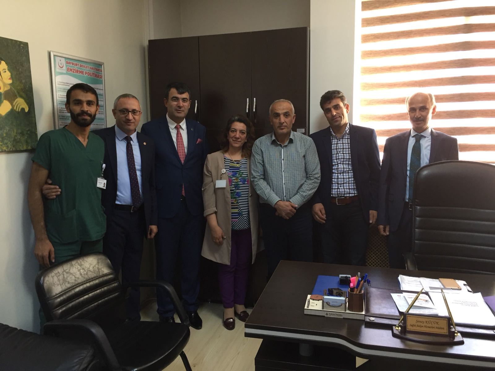 Genel Başkan Yardımcılarımız Mustafa Köse ve Mustafa Yiğit Erzincan ve Bayburt illerini ziyaret etti.