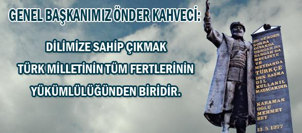 13 Mayıs Türk Dil Bayramı Kutlu Olsun.