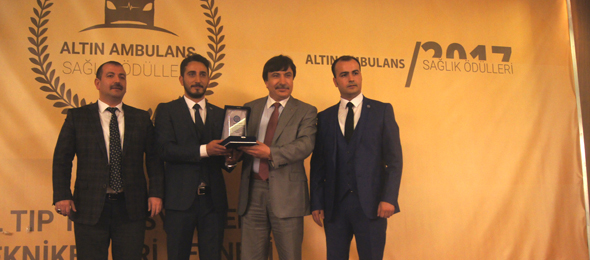 Altın Ambulans Ödül Törenine Katıldık