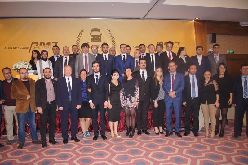 Genel Başkan yardımcılarımız İsmail Türk ve Mehmet Ali Çakal ATT-DER'in 22 Mart Acil Tıp Teknisyenleri ve Teknikerleri Günü nedeniyle düzenlemiş olduğu altın ambulans ödül törenine katıldı.