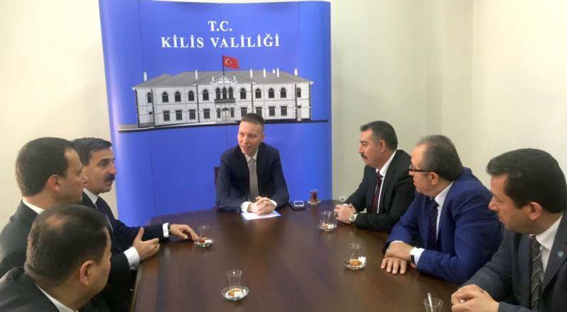 Genel Başkanımız Önder Kahveci ve Genel Başkan Yardımcılarımız Mustafa Genç, Hasan Şirin ve Abdurrahman Uysal sendikal çalışmalar kapsamında Kilis'i ziyaret ettiler.
