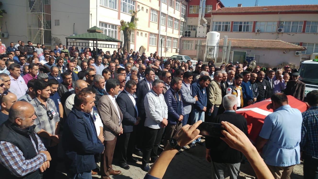 Görevi başında vefat eden Yozgat Yerköy ilçe temsilcimiz Volkan Musa Şaşmaz'ı ebediyete uğurladık.