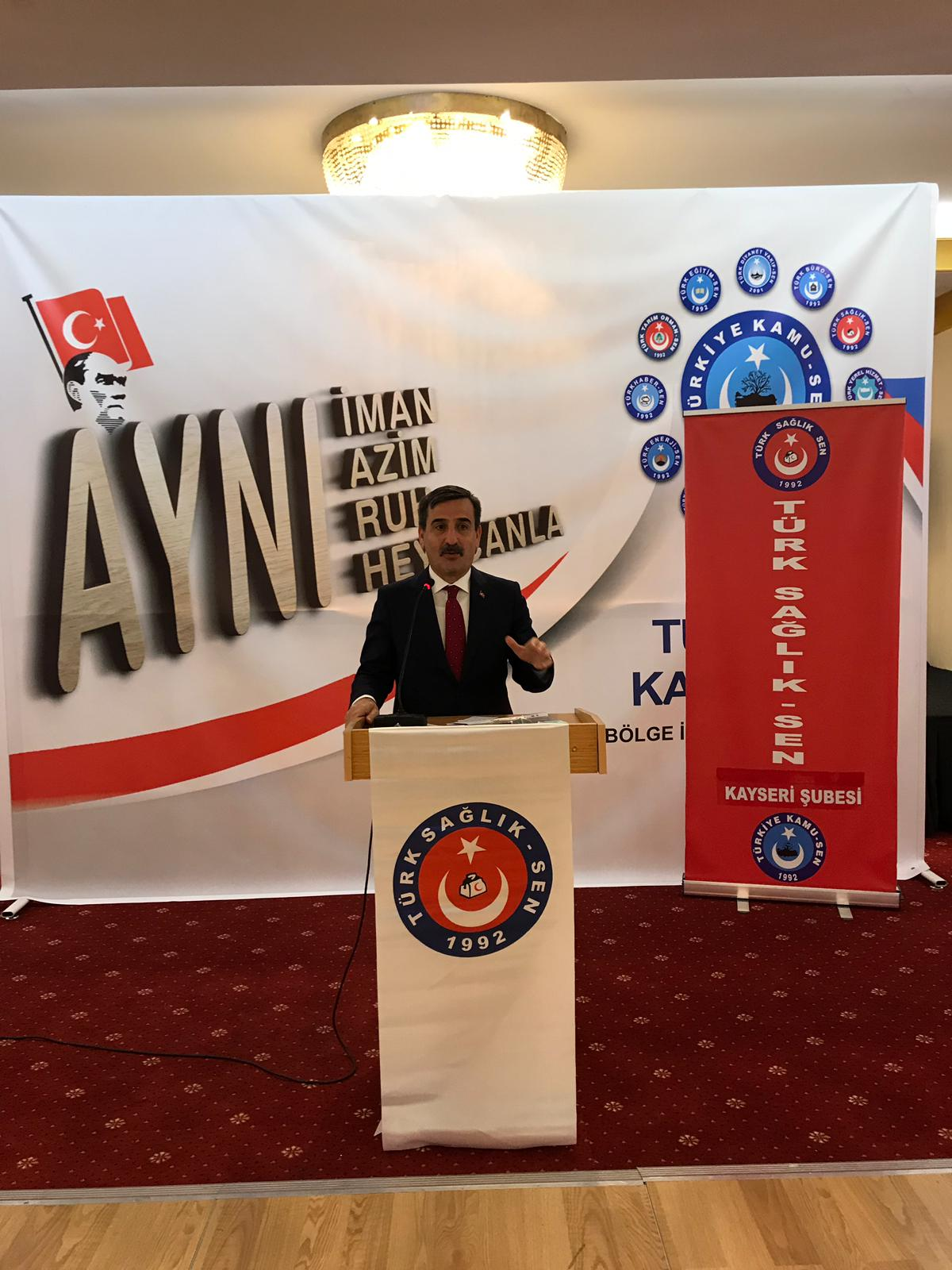 Genel Başkanımız Önder Kahveci ve Genel Başkan yardımcılarımız sendikal çalışmalar kapsamında Kayseri'yi ziyaret ettiler.