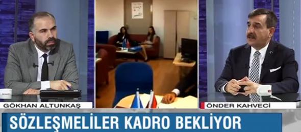 Genel Başkan Önder Kahveci Bengü Türk TV'de Gündemi Değerlendirdi