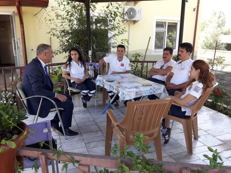 Genel Başkan Yardımcılarımız Ümit Turhan, Kenan Karaçam ve Mustafa Köse, sendikal çalışmalar kapsamında Muğla'yı ziyaret ettiler.