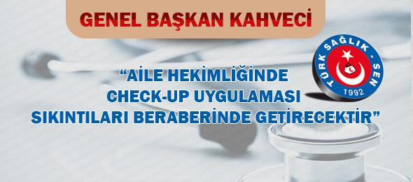 Sağlık Bakanlığı, Aile Hekimliğinde ücretsiz check-up uygulanması için tebliğ yayınladı.