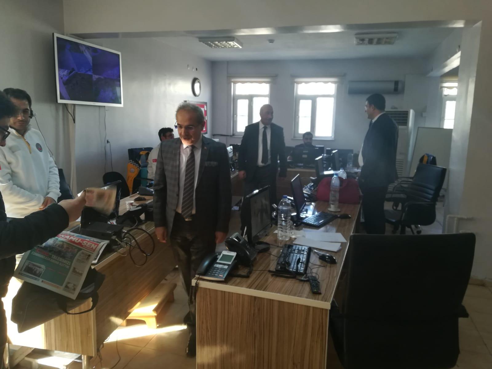 Genel Başkan Yardımcılarımız Kenan Karaçam ve Mustafa Köse sendikal çalışmalar kapsamında Mardin'i ziyaret ederek teşkilatımız ve çalışanlarla bir araya geldiler.