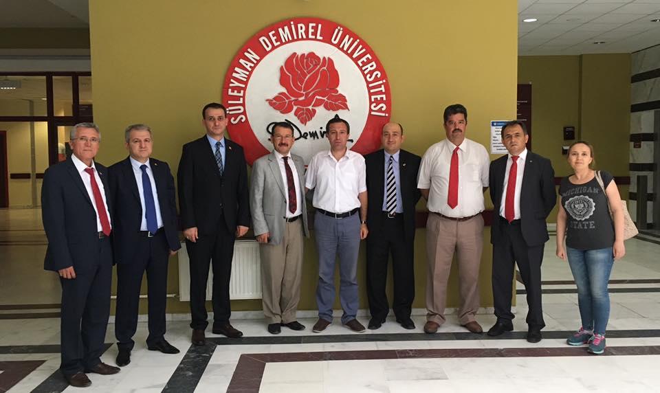 Genel Başkan Yardımcılarımız Abdurrahman Uysal ve Yusuf Alan sendikal çalışmalar kapsamında Isparta'yı ziyaret ettiler.