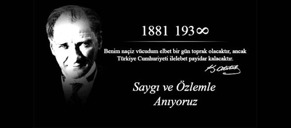 Türkiye Kamu-Sen ve Türk Sağlık-Sen Genel Başkanı Önder Kahveci, Gazi Mustafa Kemal Atatürk'ün vefatının 81. Yıl dönümüne ilişkin bir mesaj yayınladı.