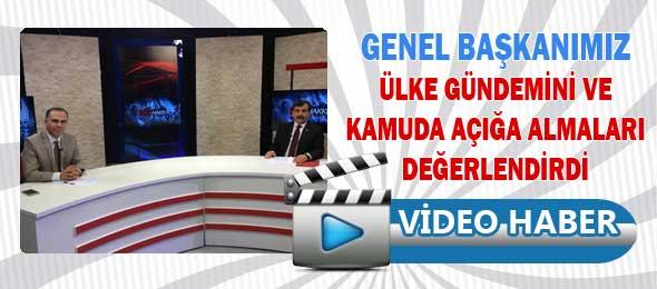 Genel Başkanımız Bengü Türk TV'de Ülke Gündemini Değerlendirdi