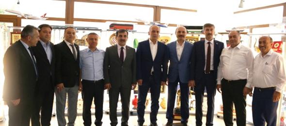 Konfederasyonumuzdan TÜRK-İŞ'e Ziyaret