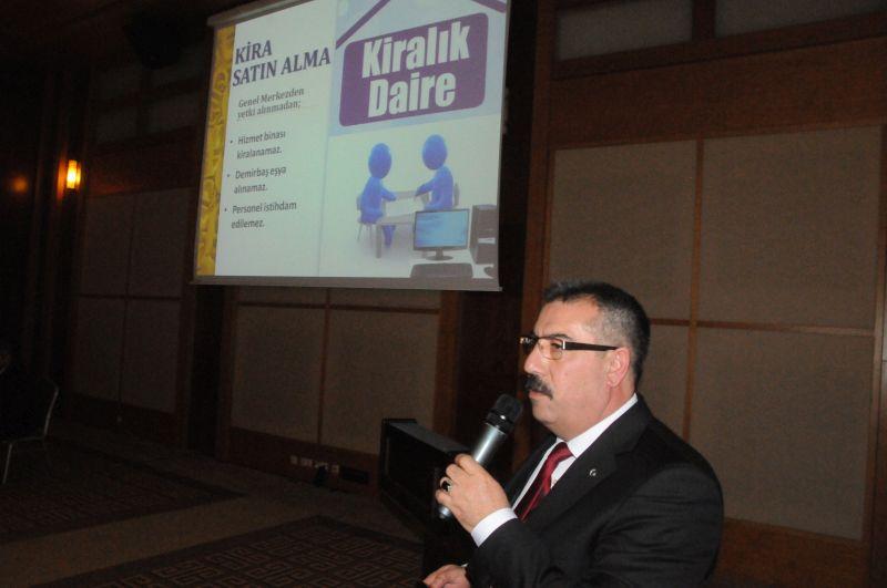 """Türkiye Kamu-Sen tarafından gerçekleştirilen """"Tek Adres Türkiye Kamu-Sen"""" istişare toplantısının 2. gününde Türk Sağlık-Sen Başkanlar Kurulu İstişare toplantısı gerçekleştirildi. Toplantıda ilk olarak tüm Genel Başkan Yardımcılarımız sekretaryalarının çalışmaları ile ilgili olarak birer sunum gerçekleştirdiler."""