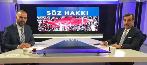 Türkiye Kamu-Sen ve Türk Sağlık-Sen Genel Başkanı Önder Kahveci, Bengü Türk TV'de yayınlanan, Gökhan Altunkaş'ın sunduğu Söz Hakkı programının canlı yayınına katılarak çalışma hayatı ve gündeme dair önemli değerlendirmelerde bulundu.