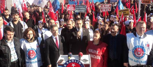 Zonguldak'ta İş Bırakma Eylemine Katıldık