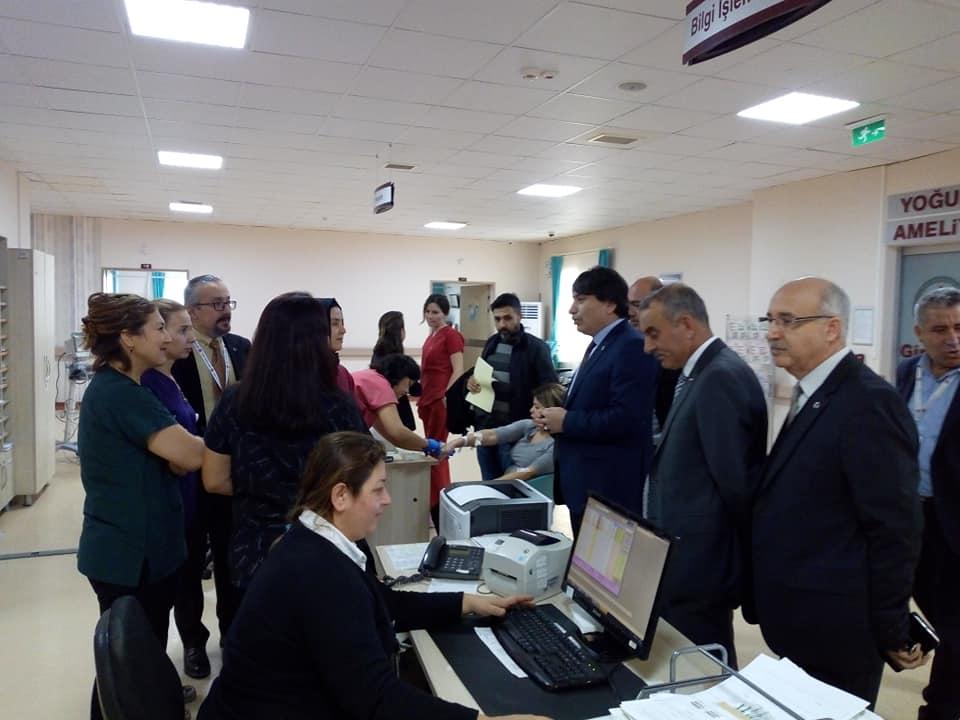Genel Başkan Yardımcılarımız İsmail Türk, Kenan Karaçam, Mustafa Köse ve Mustafa Yiğit sendikal çalışmalar kapsamında İzmir'i ziyaret ettiler.