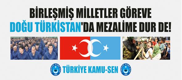 Doğu Türkistan Basın Açıklaması Metni