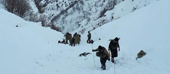 Bitlis'te Çığ Felaketi: 5 Şehit