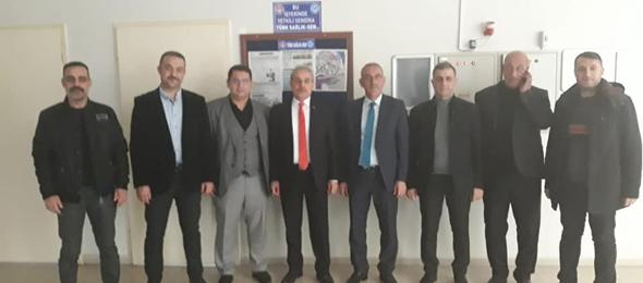 Genel Başkan Yardımcıları Kenan Karaçam ve Mustafa Köse sendikal çalışmalar kapsamında Siirt'i ziyaret ettiler.