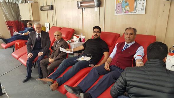 Mehmetçiklerimize Kan Bağışında Bulunduk