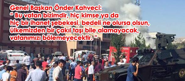 Van, Elazığ ve Bitlis'te Şehitlerimiz Var