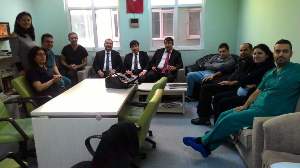 Genel Başkan Yardımcımız İsmail Türk, Ümit Turhan ve Mehmet Ali Çakal sendikal çalışmalar kapsamında Bursa'yı ziyaret ettiler.