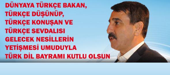 Türk Dil Bayramı Kutlu Olsun