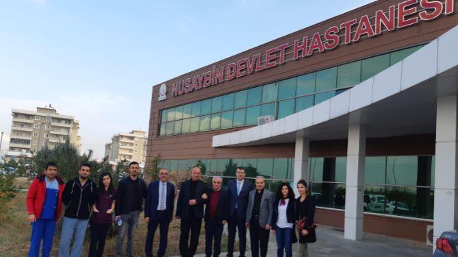 Genel Başkan Yardımcıları Kenan Karaçam ve Mustafa Köse sendikal çalışmalar kapsamında Mardin'i ziyaret ettiler.
