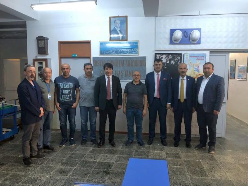 Genel Başkan Yardımcılarımız İsmail Türk ve Mustafa Köse, sendikal çalışmalar kapsamında Sinop'u ziyaret ettiler.