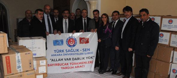 Bayır-Bucak Türkmenlerine Yardımlar Yola Çıkıyor