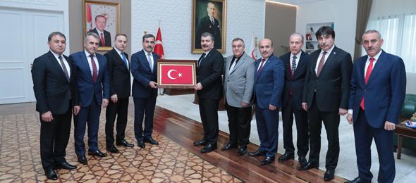 Sağlık Bakanı Sayın Fahrettin Koca'yı Ziyaret Ettik