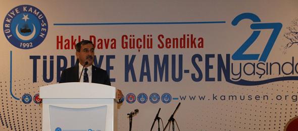 Türkiye Kamu-Sen 27. Yaşını büyük bir coşkuyla ve gururla kutladı.