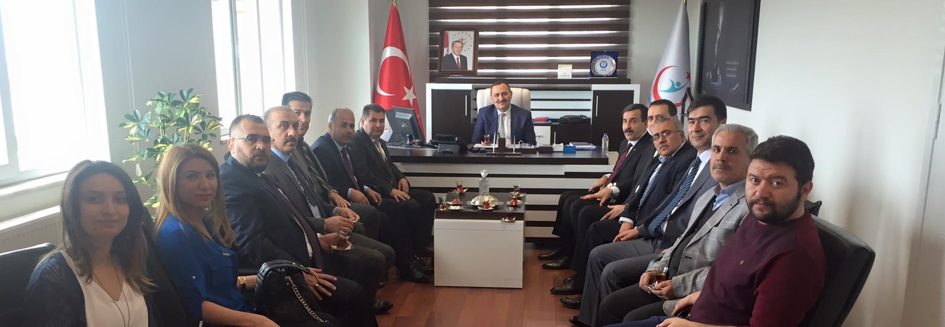 Genel Başkanımız Önder Kahveci ve Genel Başkan Yardımcılarımız Mustafa Genç, Hasan Şirin ve Abdurrahman Uysal sendikal çalışmalar kapsamında Gaziantep'i ziyaret etti.