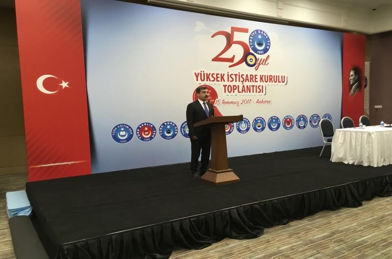 Türkiye Kamu-Sen Yüksek İstişare Kurulu Toplantısı Başkent Ankara'da toplandı.