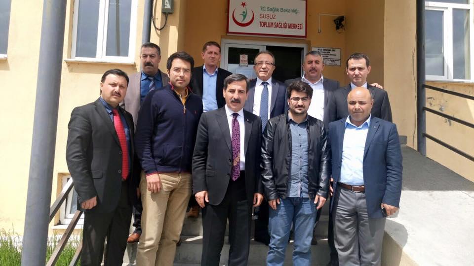 Genel Başkanımız Önder Kahveci ve Genel Başkan Yardımcılarımız Mustafa Genç, Hasan Şirin ve Abdurrahman Uysal ile birlikte sendikal çalışmalar kapsamında Kars'ı ziyaret etti.