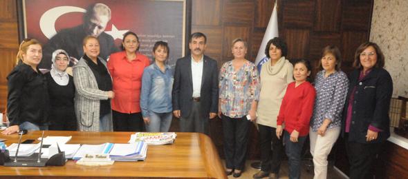 Kadın Komisyonumuzdan Genel Başkanımıza Ziyaret