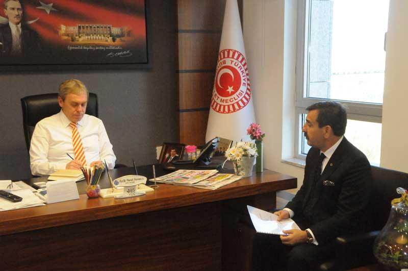 Genel Başkanımız Önder Kahveci ve Genel Başkan Yardımcılarımız TBMM Sağlık, Aile, Çalışma ve Sosyal İşler Komisyon Başkanı Sayın Prof. Dr. Vural Kavuncu'yu ziyaret etti.
