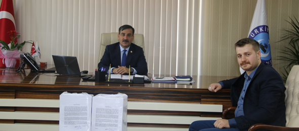 KADASED, Kadro İçin Dilekçeleri Genel Başkanımıza Teslim Etti