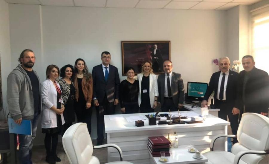 Samsun'da Sağlık Çalışanlarıyla Biraraya Geldik