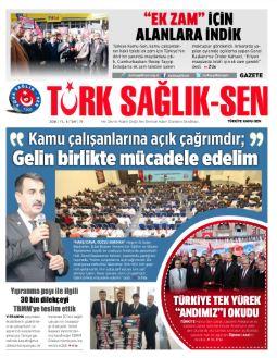 Gazete Türk Sağlık-Sen 74. Sayı